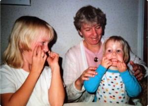 Anna, mommo, tiny jag