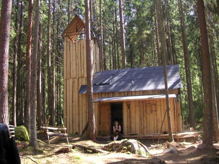 Ett hus jag har byggt med Eric och Leo :)